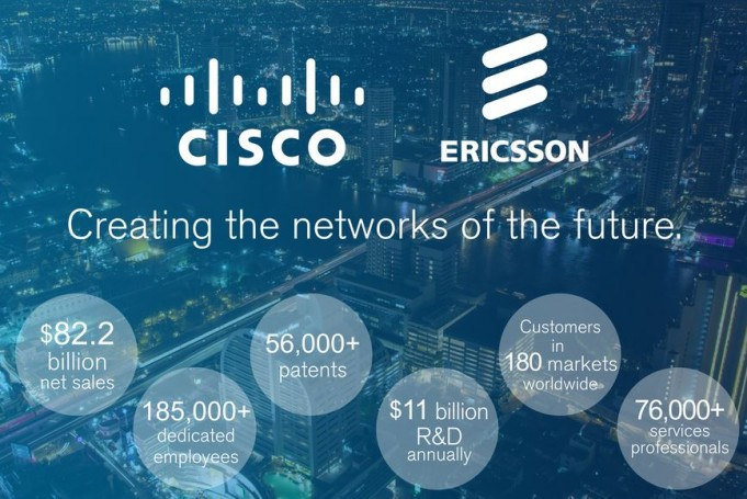 Cisco and Ericsson bet big on 5G and IoT networks