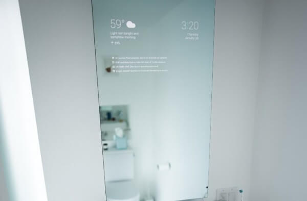 Google Glass engineer develops IoT smart mirror
