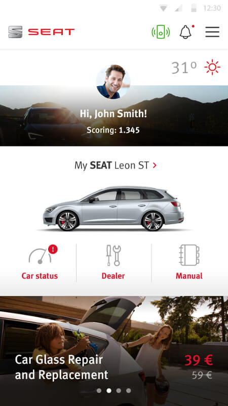 Seat announces IoT technology for connected cars