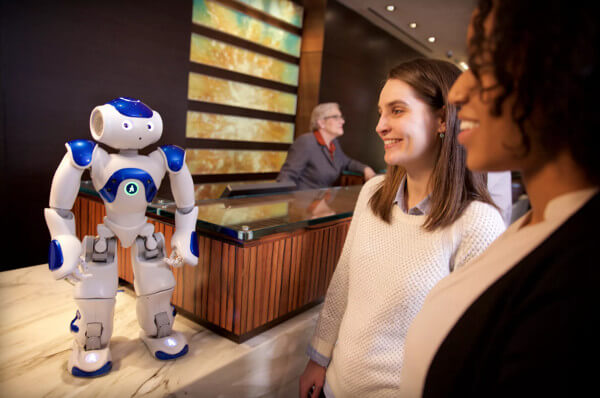 IBM's Watson delivering robot hospitality at Hilton hotels