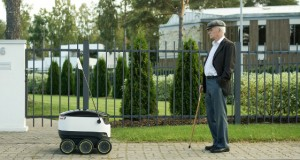 Robot delivery hits London streets