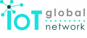 A logo of the company IoT Global Network