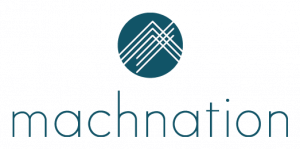 A logo of company Machnation