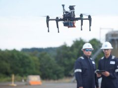 GE commercial drone detect gas leaks