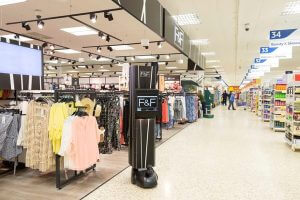 Tesco are using robots to improve inventory management