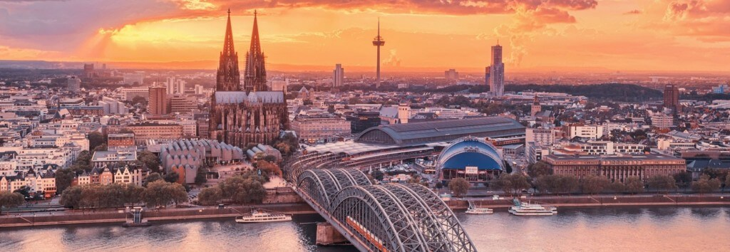 A photo of Cologne, Germany.