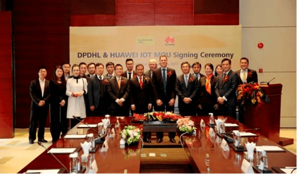 DPDHL signs up Huawei for IIoT connected supply chain partnership