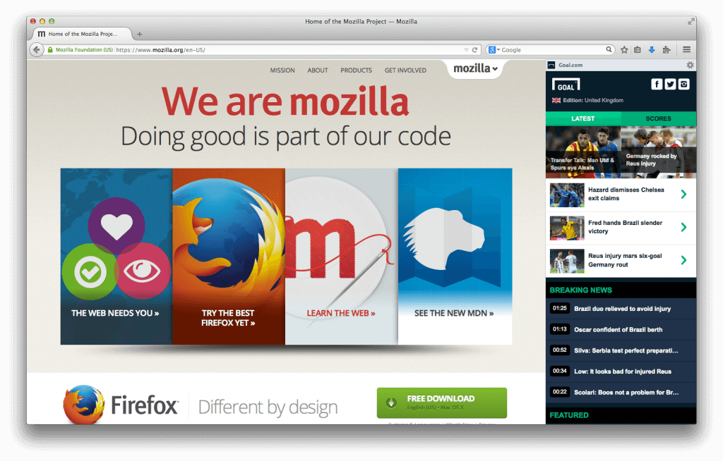 Mozilla ditches Connected Devices IoT project, lays off