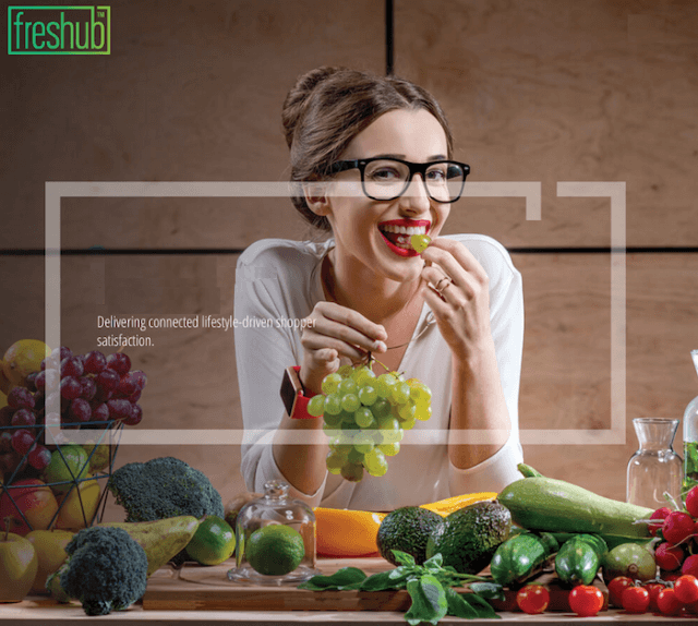 Freshub recipe for data in the smart kitchen