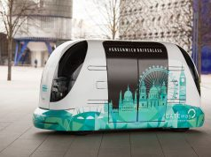 Trial of driverless shuttle kicks off in Greenwich, London