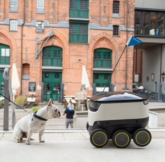 hermes delivery robot starship