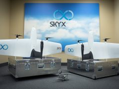 skyx oil and gas inspection drone