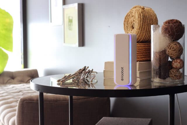 Foobot – the smart indoor air quality monitor