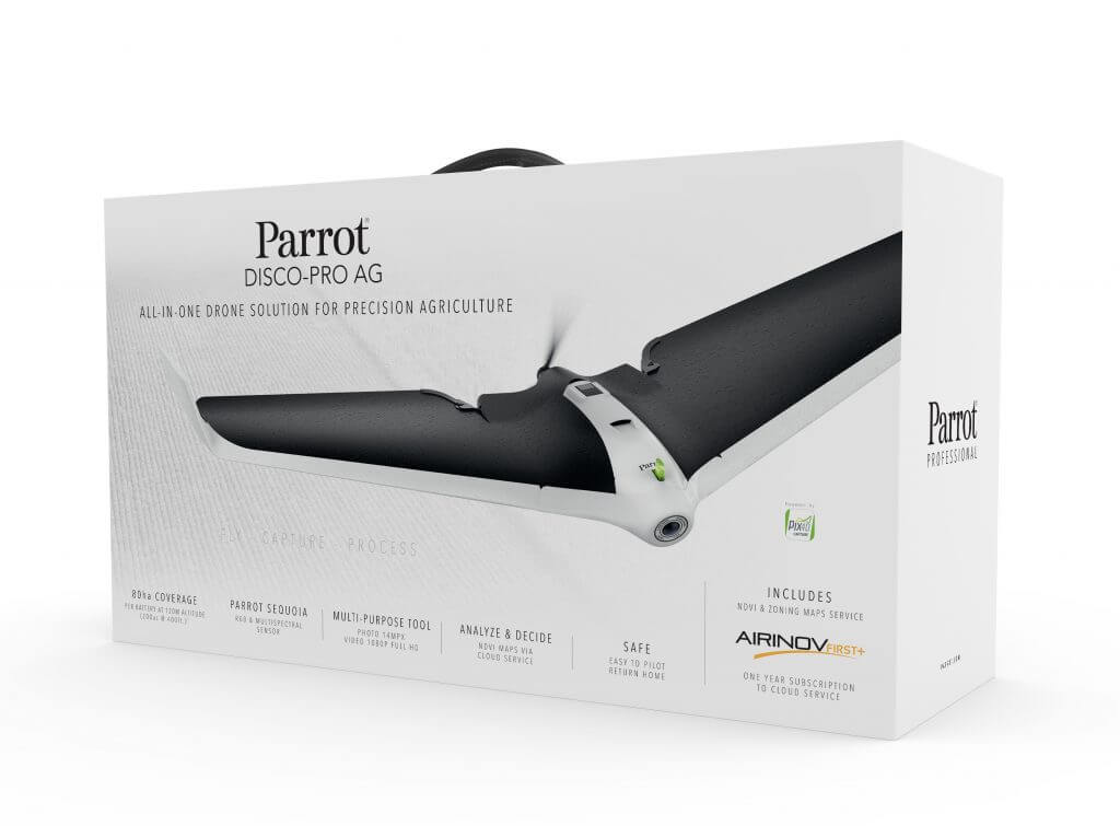 parrot disco pro ag commercial package