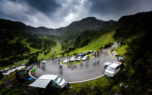 tour de france uses IoT in digital battle spectators' attention