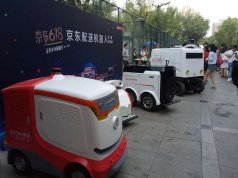 JD.COM jd drone robot delivery china