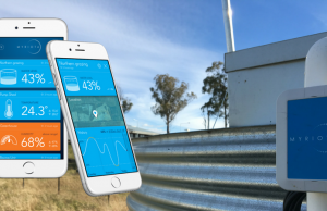 Myriota helps remote farmers keep water stocks high