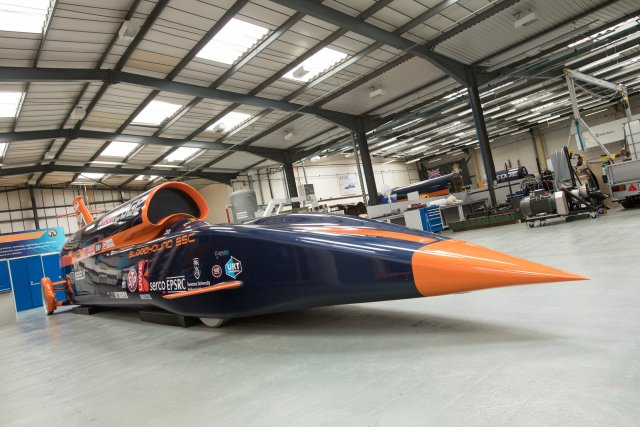 Bloodhound Project teams Oracle world land speed record attempt