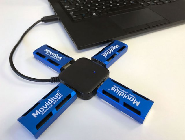 Intel Movidius Stick puts neural AI on the edge