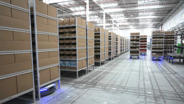 Ecommerce giant Alibaba launches china's smartest warehouse