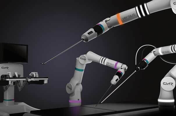 Versius robot arm to transform minor operations