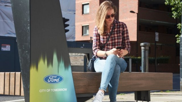 Ford smart benches to be launched in London