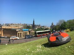 Husqvarna robotic lawnmowers to collect data in city parks