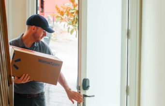 walmart and august home to deliver straight to your fridge with smart lock