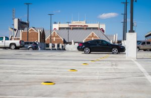 University of Oklahoma installs sensor-based parking system