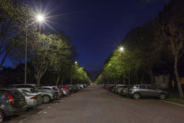 Smart streetlights may mean big savings in Cardiff