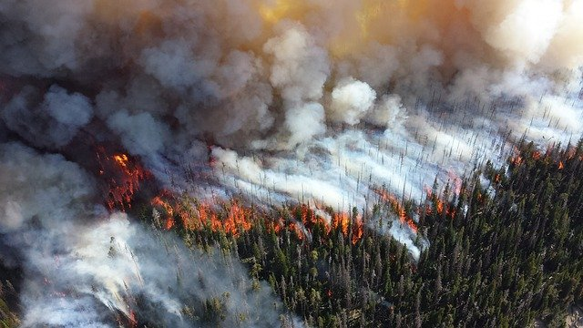 Drones offer a new perspective on British Columbia wildfires