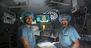 Robotic spine surgery and smartphone-linked cardiac monitors come to US hospitals