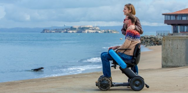 WHILL Model Ci brings IoT and modern design to mobility devices