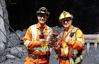 mining in canada, with flyability's elios drone