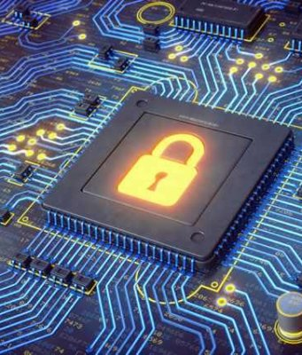 MIT chip performs hardwired encryption faster and using less power.