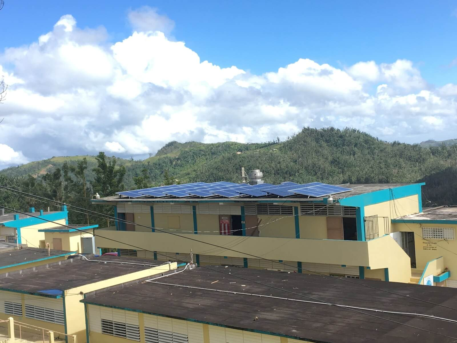 Microgrids post-hurricane recovery and energy resilience