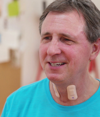 At the Shirley Ryan AbilityLab in Chicago, researchers are using wearable sensors to track the rehabilitation progress of stroke sufferers.