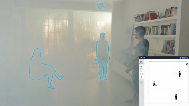 Vayyar uses radio waves to build a 3d image of environments, so privacy is never a concern