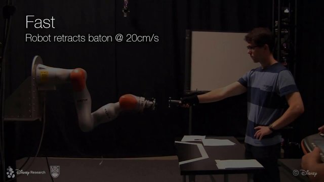 human-robot intereactions - disney research
