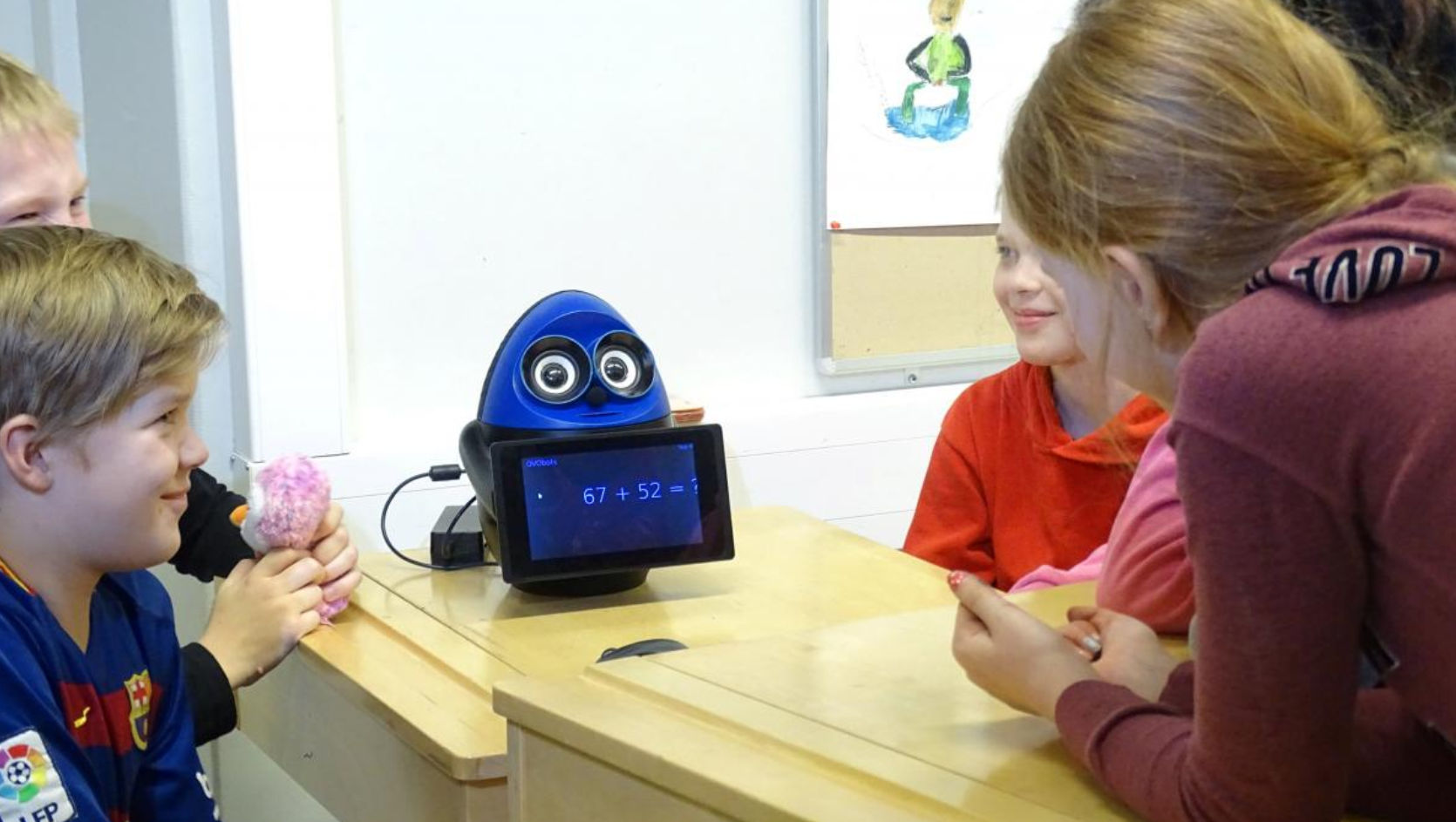robot teachers have been trialed as part of a pilot program in finland school