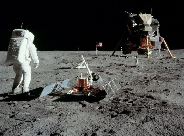 The crater scape! Blockchain partnership to map Moon landing ...