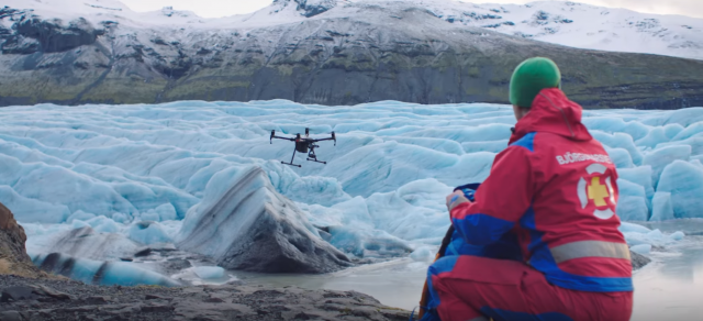 drones search and rescue - dji report says drones are saving lives