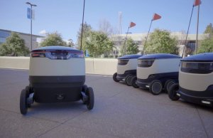 starship technologies rollout robot delivery service on business and university campuses