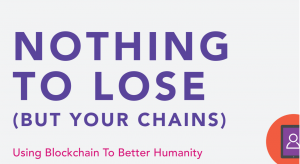 charity futures report into blockchain potential