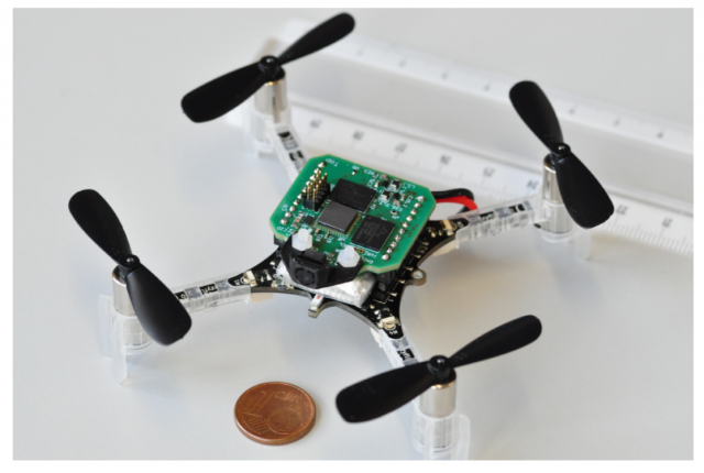 smallest autonomous drone using dronet convolutional neural network