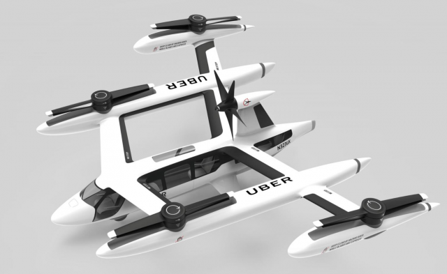 Uber air taxi service - deals with nasa, the us army and potential manufacturers
