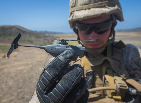flir black hornet personal recon drone - contract with us army
