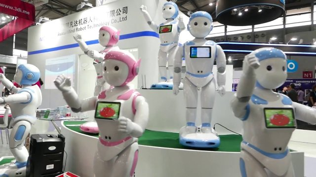 Robots & AI creating more jobs in Asia than they destroy