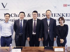 vechain and DB Schenker pioneer in the use of blockchain for the logistics industry