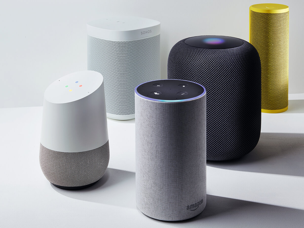 Smart speaker market 2.5 times bigger than 2017, says report | Internet of  Business